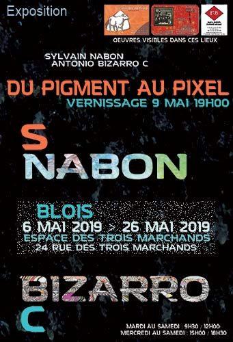 Exposition du 6 au 26 mai 2019 à Blois